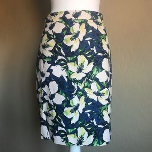 J. Crew Cotton Pencil Skirt